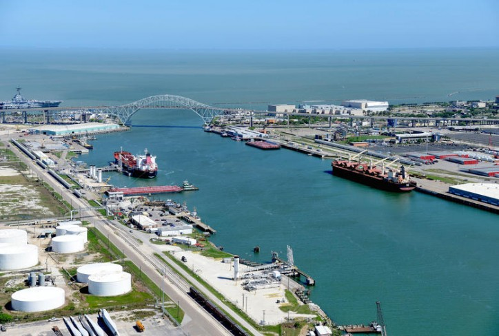 Port of Corpus Christi Sets Tonnage Record in First Half of 2018