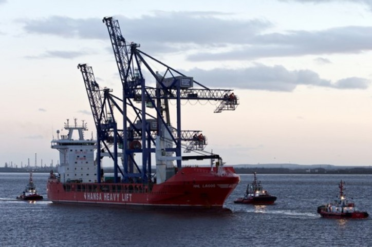 ABP crane investment set to lift booming Port of Hull to new heights