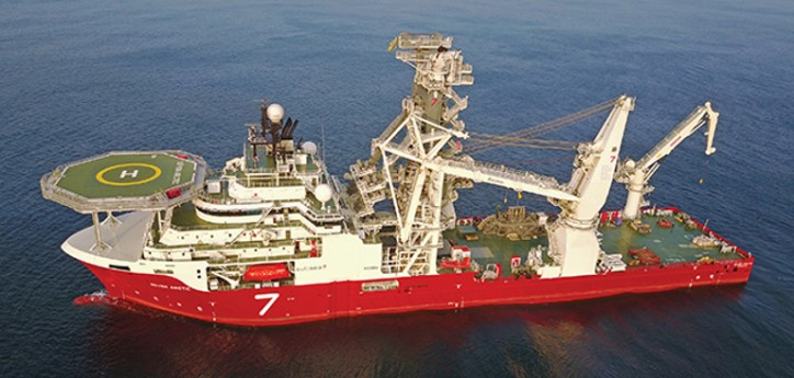 New Subsea 7 heavy construction vessel built to LR class