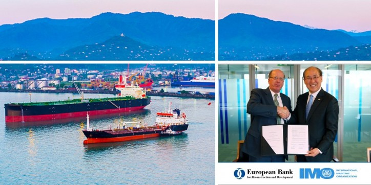 IMO and EBRD sign new partnership to support sustainable shipping