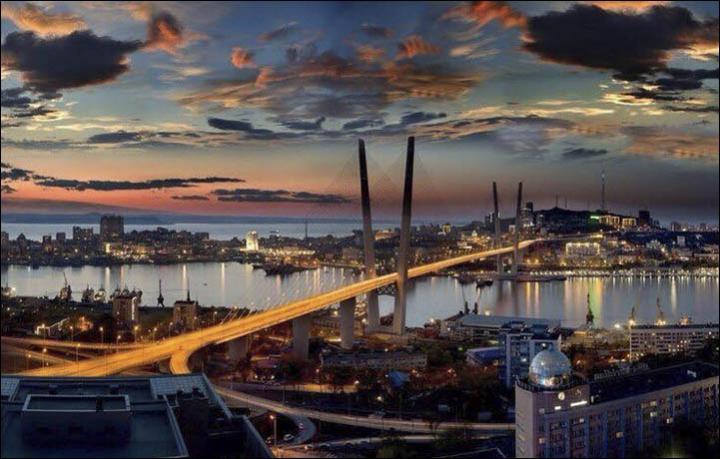 Vladivostok Established As Free Port By President Vladimir Putin