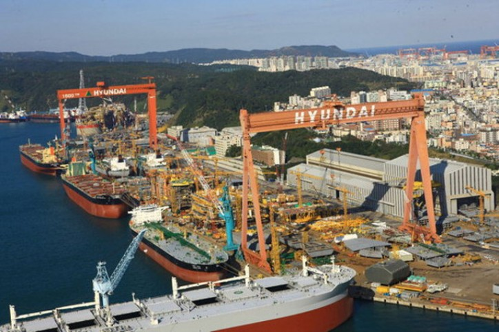 Hyundai Heavy Industries Group' Ship Order Jumps 500% in January-May Period