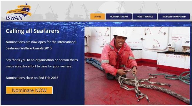 2015 International Seafarers Welfare Awards
