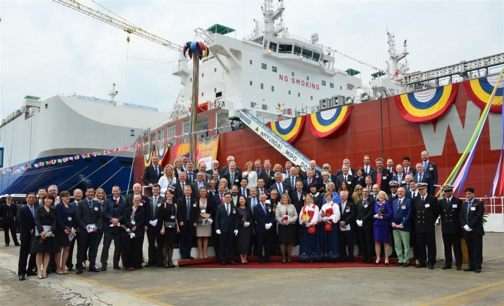 DNV GL welcomes Lindanger to fleet – world's first methanol fuelled ocean-going vessel