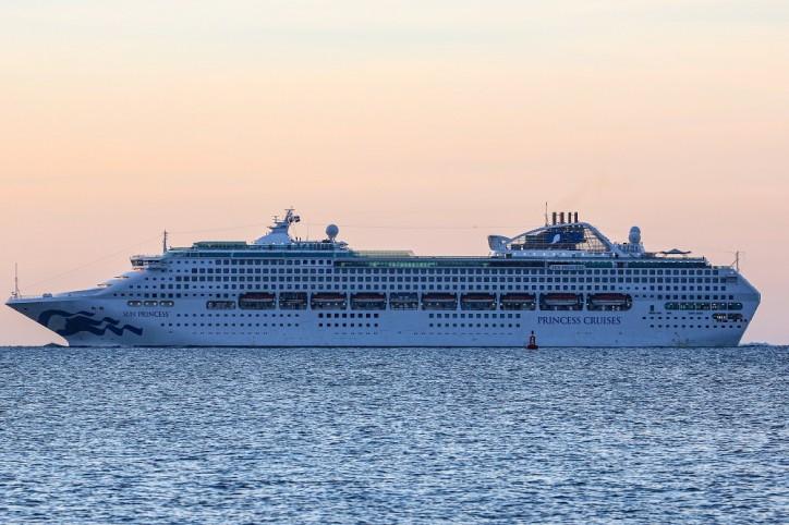 Port of Southampton welcomes Sun Princess on maiden call