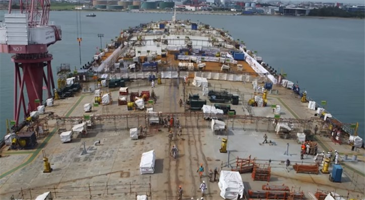 SBM Offshore puts safety in the limelight as topsides construction kicks off for Liza FPSO (Video)
