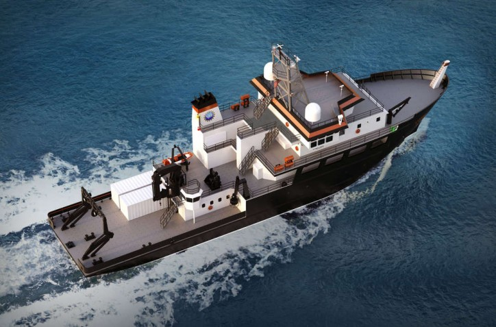 Rapp Marine Selected as OHS SSV for New OSU Research Vessel