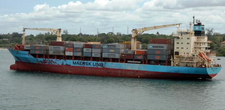 Maersk Alabama (IMO number 9164263 and MMSI 366873000)