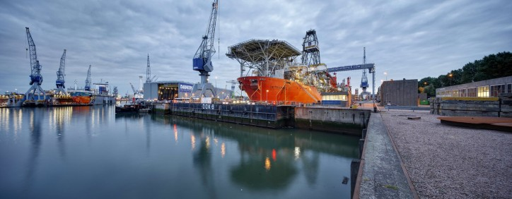 Damen Shiprepair and Conversion starts operating from Curaçao