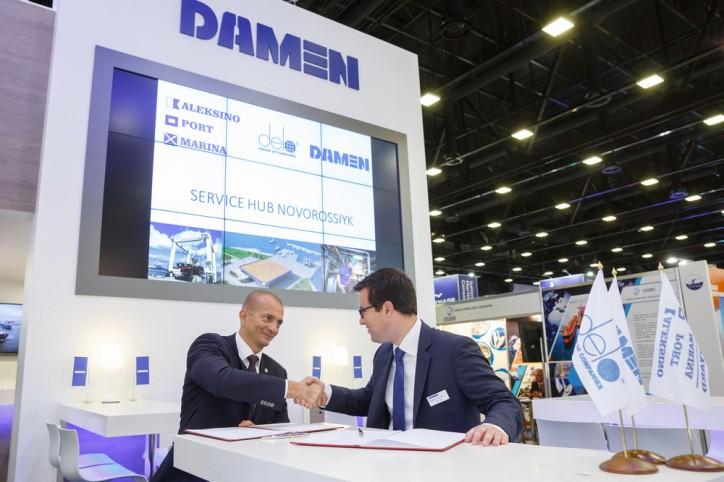 Damen to open Service Hub in in the Russian port of Novorossiysk