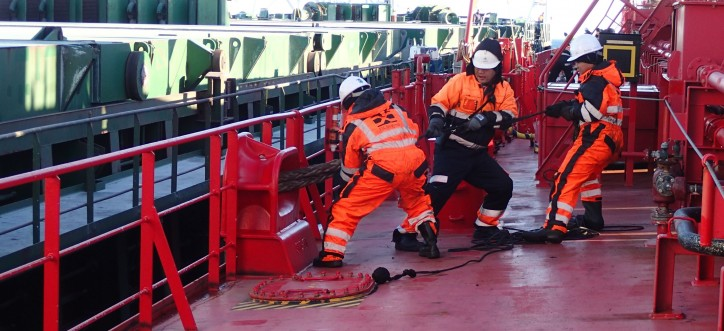 ESL Shipping invests in safety at work