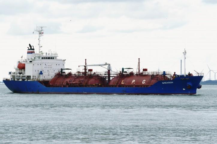 LPG tanker Grendon (Sienna 5) IMO 9133707