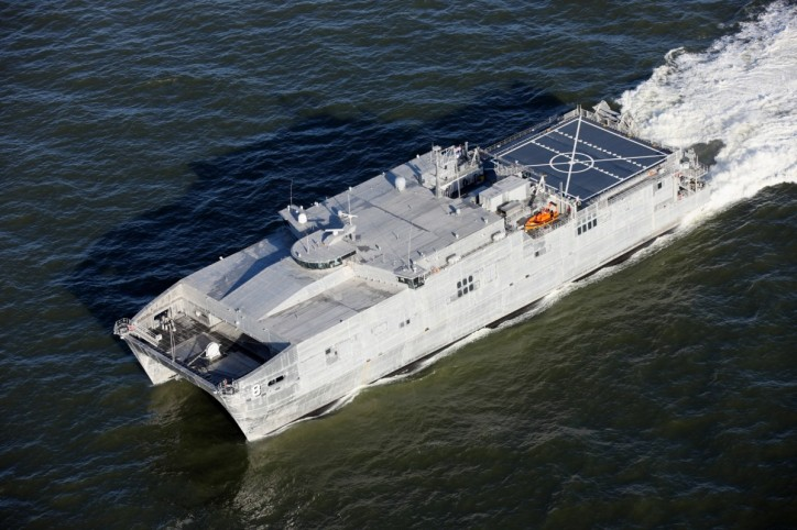 Austal's Expeditionary Fast Transport 8 (EPF 8) Completes Acceptance Trials