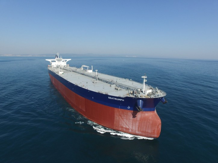 SEATRIUMPH - a new VLCC tanker, joins the Thenamaris managed fleet