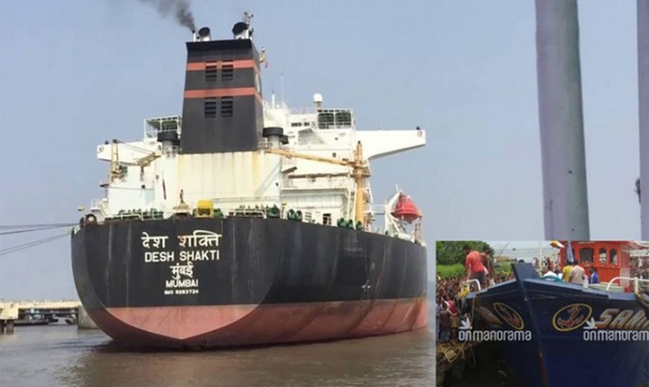 Crew and Master of Hit-and-Run Tanker Detained