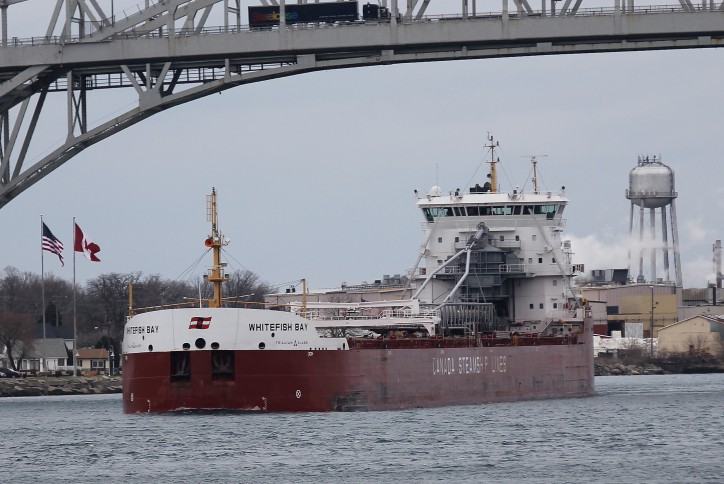 Canada Steamship Lines bulker runs aground in St. Lawrence Seaway