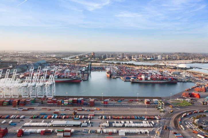 Port of Long Beach Launches Data-Sharing Project with GE Transportation to Improve Cargo Flow Efficiencies Amid Record Volumes