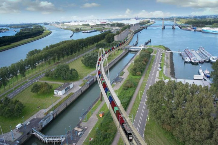 Port of Rotterdam Authority to redirect 4km of port section of Betuwe Route