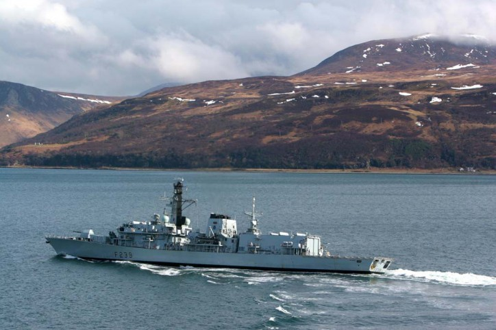 UK Royal Navy warship Seizes $4.5m worth of Cannabis in the Mediterranean