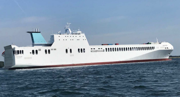 FSG delivers seventh RoRo new building for SIEM