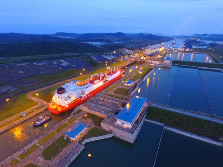 Panama Canal Transits Four LNG Vessels in One Day