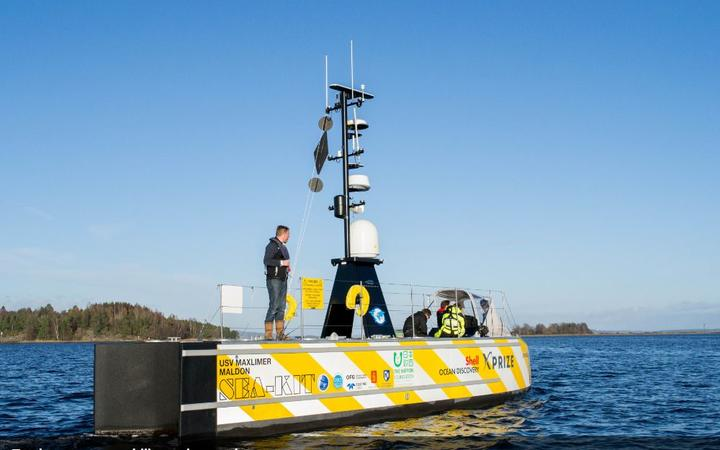 The Robot Ship Set to Cross the Atlantic and Change the World
