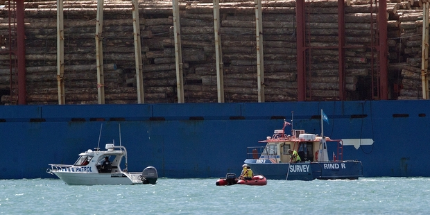 Seaman dies after falling overboard bulker Mount Hikurangi in Port of Tauranga