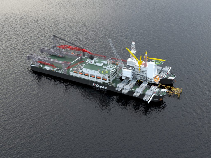 Allseas selected to remove the Repsol Gyda platform