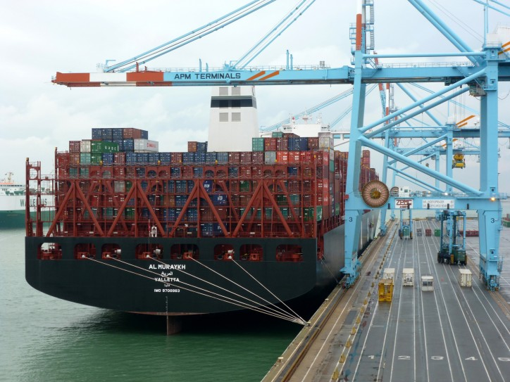 Al Muraykh pays maiden call to Apm Terminals Zeebrugge