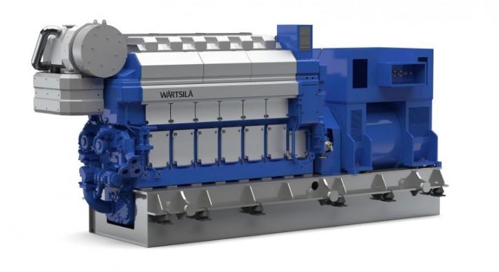 Wärtsilä Auxpac 32 engine