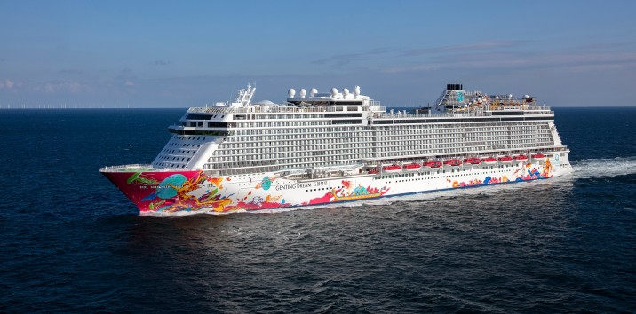 Meyer Werft Delivers First Cruise Ship For The Chinese