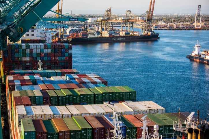 Port of Los Angeles cargo volumes of 796,000 TEUs makes for busiest May in port history