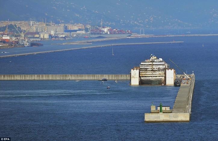 Costa Concordia Genoa