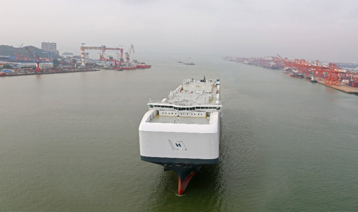 PCTC Höegh Tracer Delivered, Starts 12-Year Charter