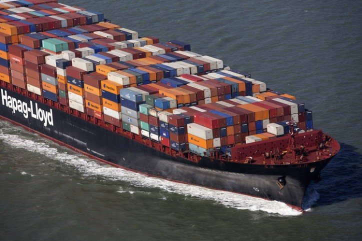 Hapag-Lloyd to increase the rates effective January 15, 2016