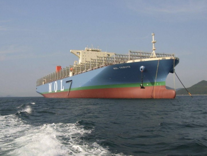 Mega Ship MOL Tribute Under BSM Management