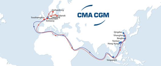 CMA CGM New FAL 7 service