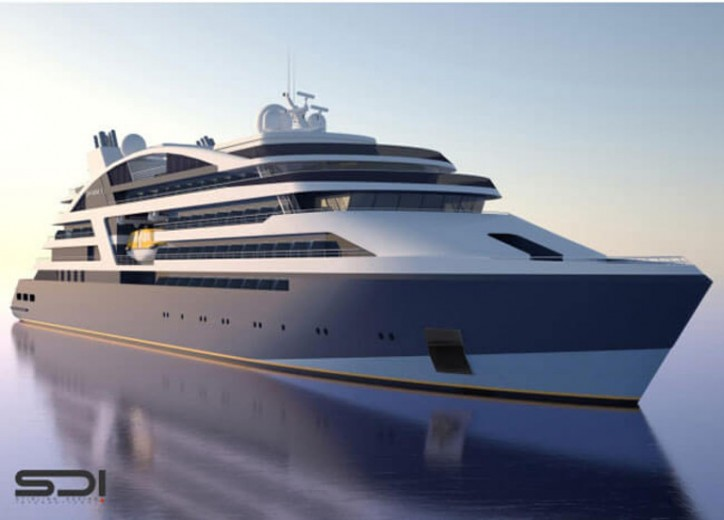 VARD Confirms Contracts With PONANT for 4 luxury expedition cruise vessels