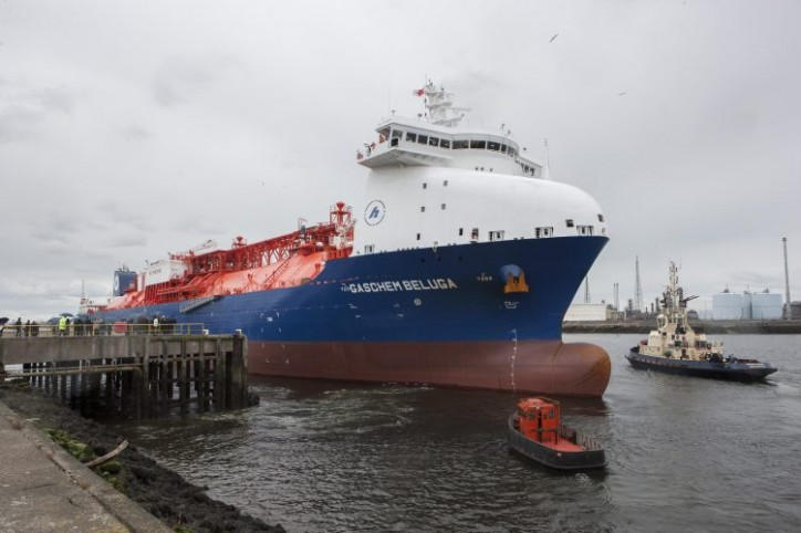 Ethane Carrier GasChem Beluga Named