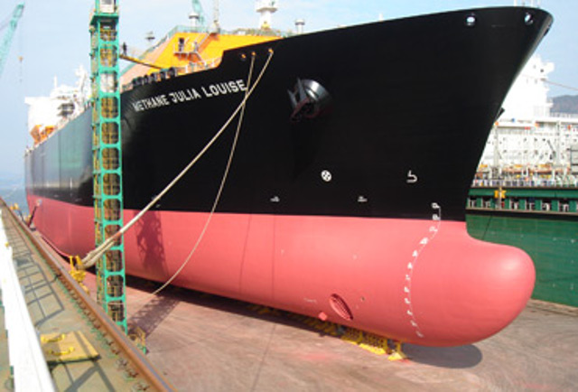 BG Group's new LNG ship design promises 3-5% fuel savings