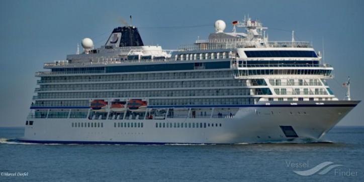 Viking Sea kick-started the cruise season in Tallinn