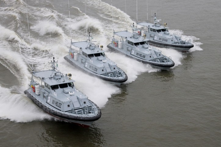 Nigeria's C&I Leasing Plc takes delivery of four Damen Stan Patrol 1605 vessels