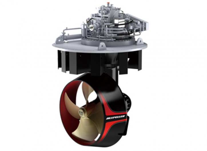 Kawasaki Receives First Order for Newly Developed E-series Rexpeller Azimuth Thruster