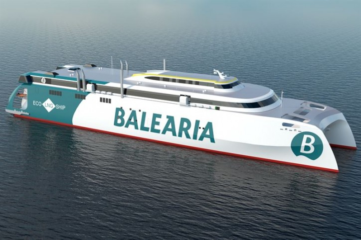 Wärtsilä fully integrated scope chosen for largest LNG fuelled high-speed catamaran