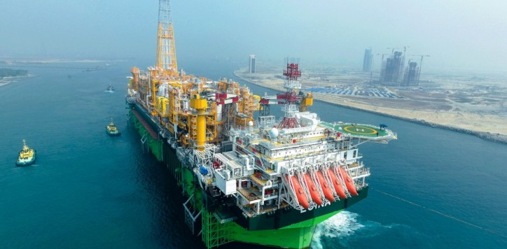 Total Starts Up Production of the Giant Egina Field