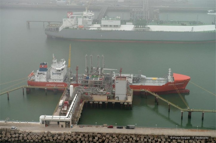 Zeebrugge LNG Terminal: Coral EnergICE starts regular loading operations