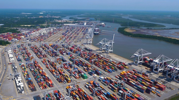 Georgia Port Authority: 10M-TEU capacity in 10 years