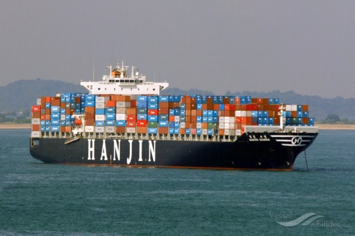 First Hanjin vessel seized at Korean port