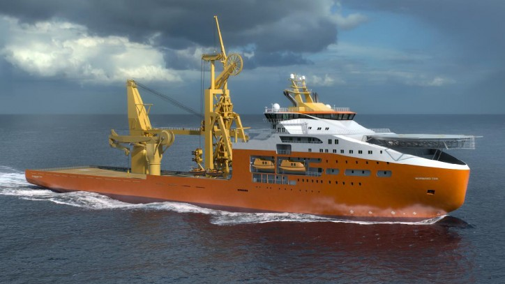 Solstad takes delivery of Normand Maximus and signs charter contract with Saipem