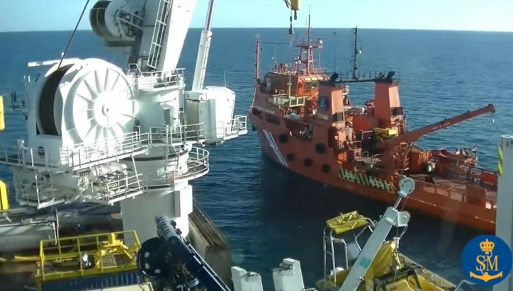 Watch: Debunkering of sunken Russian trawler Oleg Naydenov; Works completed, all leaks sealed